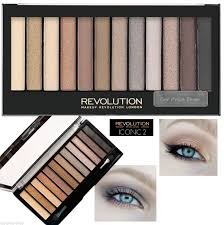 details about makeup revolution london iconic 2 eyeshadow palette