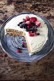 The Best Vegan Vanilla Cake With Berries Veggie Desserts