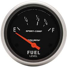 fuel tank sending unit tech com the short sweep electric fuel gauge manufactured by auto meter for the ford 73 10ohm range is calibrated for the original ford factory supplied non linear