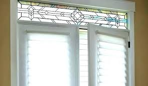 front door window blinds french treatments shades doors side