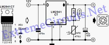 pc fan speed controller for a low noise pc eeweb community circuit diagram lm2941