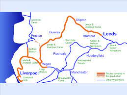 Leeds & Liverpool Canal Cruising Map for Download – Waterway Routes