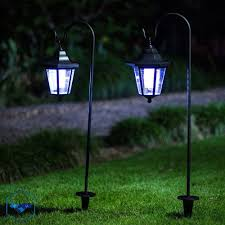 Gigalumi Hanging Solar Lights Outdoor Post Light Solar Powered Waterproof Hanging Lantern
