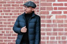 filled with 80 20 down and cordura combat wool this winter worthy quilted puffer will keep you warm looking sharp and organized without weighing you