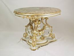 tl 0009 round little table for center hall in style