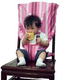 travel high chair cover