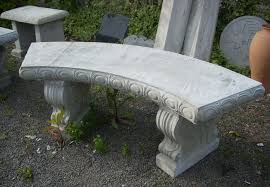 concrete garden bench. Concrete Garden Benches Bench Home Design