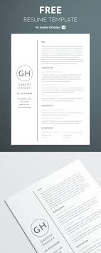 98 Awesome Free Resume Templates For 2019 Creativetacos Indesign