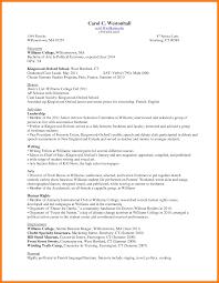 7+ freshman college resume