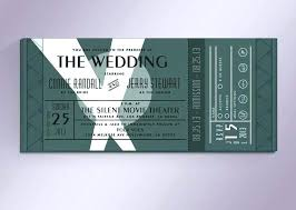Invitation Ticket Template Custom Movie Ticket Wedding Invitation Template Free Elegant Invitations