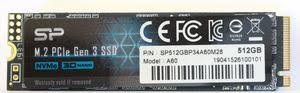 Тест и обзор: <b>Silicon</b> Power P34A60 - бюджетный <b>SSD</b> NVMe с ...