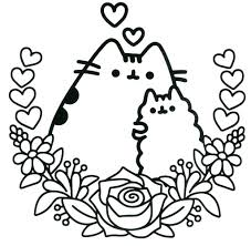 54395046 Related Image Coloring Pages Pusheen Coloring Pages