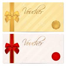 gift voucher stock photos pictures royalty gift voucher gift voucher voucher gift certificate coupon template stripe pattern red and