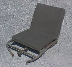 m151 front seat cushion set