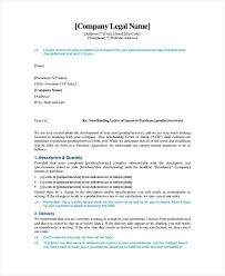 Letter Of Intent For Real Estate Purchase Template Sample 1 ...