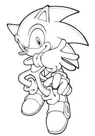 Small Picture Sonic To ColorToPrintable Coloring Pages Free Download