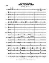 Te Tengo Bajo Mi Piel Big Band Jazz Vocal Chart Sinatra