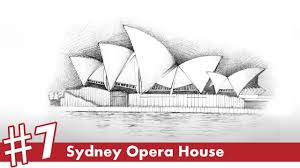 architectural drawings of famous buildings. Sydney Opera House Perspective Drawing #7 | Famous Architecture - YouTube Architectural Drawings Of Buildings C