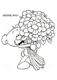 Small Picture Free Coloring Pages Of Me To You Thank You Cards Thank You 21554