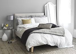 bedrooms with white furniture. Light Grey Bedroom With White Textured Duvet Set And Throws. Bedrooms Furniture