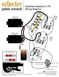 c d radius bridge pickup Schecter Diamond Series Wiring Diagram hellraiser special c 1 fr wiring diagram schecter guitars