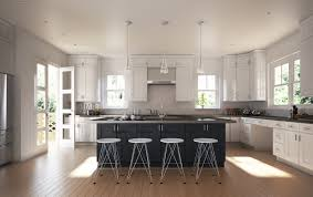 kithen design ideas modern shaker style kitchen cabinets unique society white with black island faucet pull