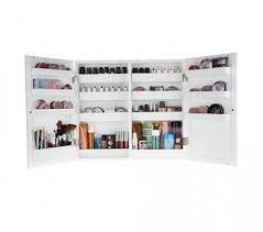 makeup storage furniture. cosmetic mirrored wall cabinet by lori greiner inside makeup storage furniture