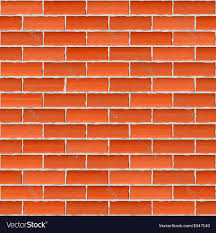 old brick wall seamless background vector image