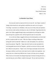 count of monte cristo paper beveridge eric beveridge mr butler 5 pages les miserables essay autosaved
