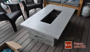 outdoor gas fireplace diy