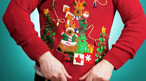 The Ugly Christmas Sweater Party and the Jew - What The Flicka?
