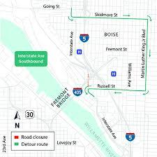 Oregon Department Of Transportation Project Details