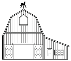 Free Printable Barn Templates Coloring Pages This Is Your Page