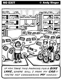 Andy Singer Cartoons — bicycle sample 9