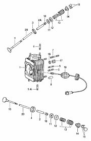buy porsche 964 (911) (1989 1994) engine valves guides springs Engine Breakdown Diagrams 1987 GMC 4000 valve spring porsche 911 1965 89 964 1990 94