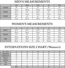 Aus To Us Size Chart Size Guide