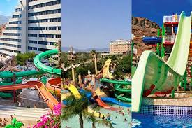 Swirly Slides Best Spain Waterpark Hotels With Water Slides Madeformums