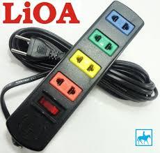 GIÁ TỐT] Ổ cắm điện LIOA 4 lổ 3 mét 1000W 4TS3-2, Giá siêu tốt 62,900đ! Mua  nhanh tay! - Bigomart
