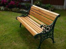 cast iron garden bench. VINTAGE CAST IRON GARDEN BENCH - COMPLETE WITH NEW AMERICAN LIGHT OAK SLATS Cast Iron Garden Bench