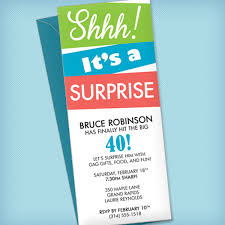 party invite templates free surprise party invitation template download print