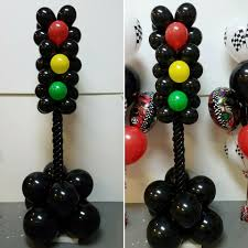 Balloon Stop Light Stoplight Balloon Columns Custom Made By Party Plus In