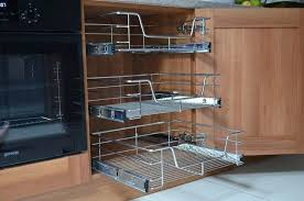 baskets for kitchen cabinets pull out wire baskets kitchen cabinet larder cupboards pull out baskets for