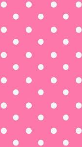 pink polka dot wallpaper