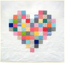 "Free Valentine's Day Quilt Patterns – BOMquilts.com & ""Pixelated Heart"" Free Quilt Pattern designed by Blue Elephant Stitches  from Robert Kaufman · "" Adamdwight.com"