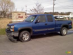 Silverado 2003 chevy silverado extended cab : 2003 Chevrolet Silverado 1500 LS Extended Cab 4x4 in Arrival Blue ...