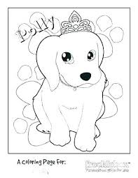 Dog Coloring Pages For Kids Puppy Coloring Pages Printable Free Dog