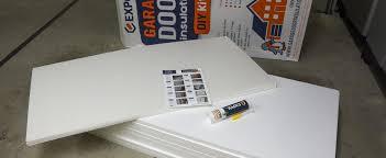 expol garage door insulation kit install review