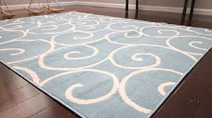 light blue area rug deboto home design rugs within 8x10 plan 4