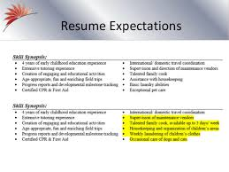 Stunning Resume Expectations Contemporary - Simple resume Office .