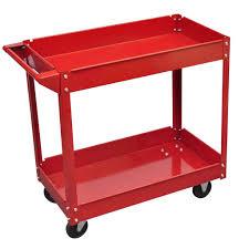 details about 3 tier work tool trolley storage heavy duty garage diy organizer wheel cart